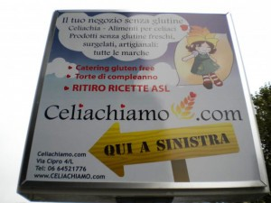 Celiachiamo.com, il negozio senza glutine di Roma!